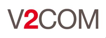 V2COM Logo